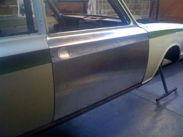 Ford Cortina Mk1: Details of a project Ford Cortina Mk1 for which we made one-off aluminium bodywork and replacement suspension parts.