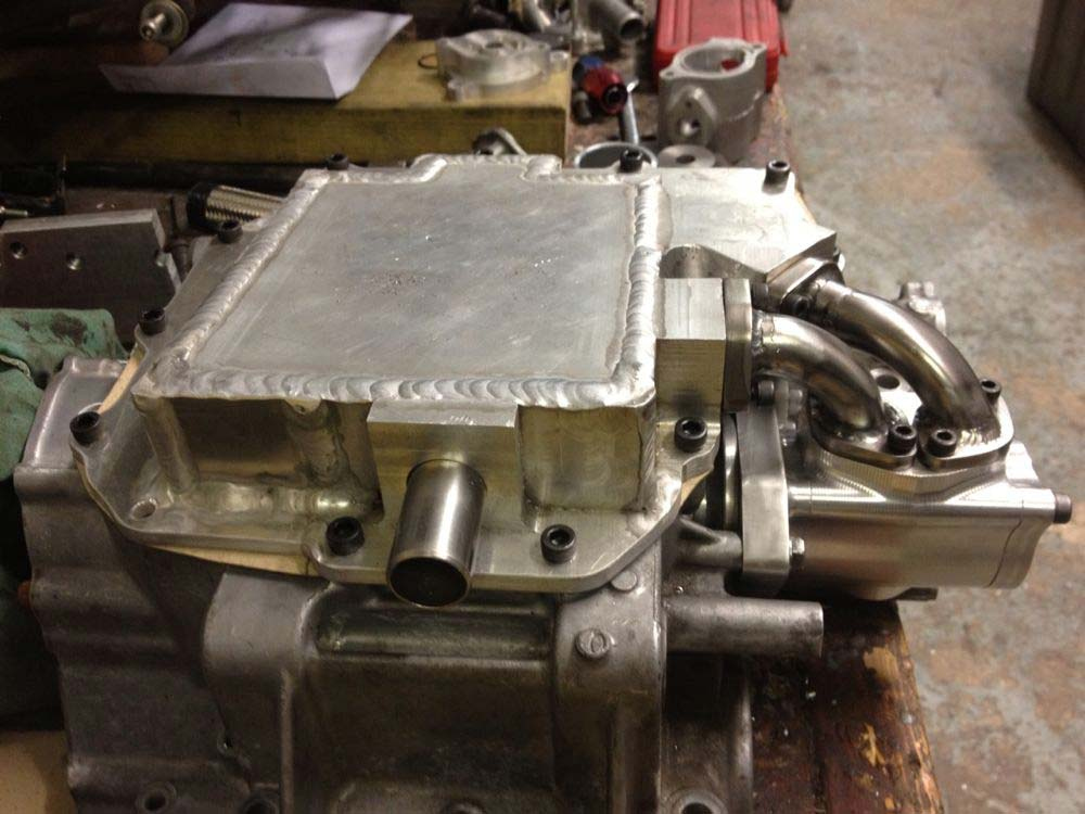 Image of Dry Sump System Baker Honda Sidecar   05