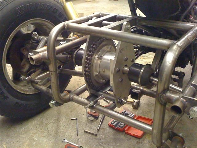 Trike Building: Builders of trikes based on motorcycles or cars.  Independent rear suspension manufacturer for trikes and three wheelers.
