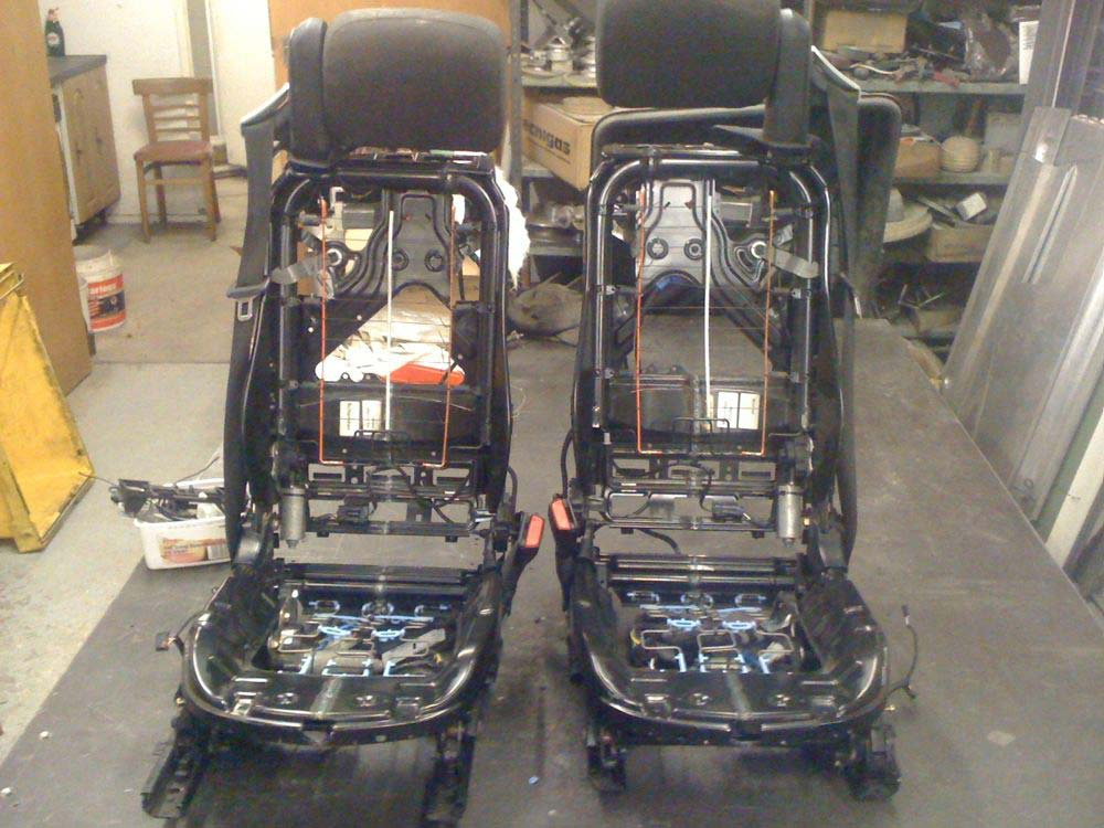 Image of Modified Sports Car Seats   07