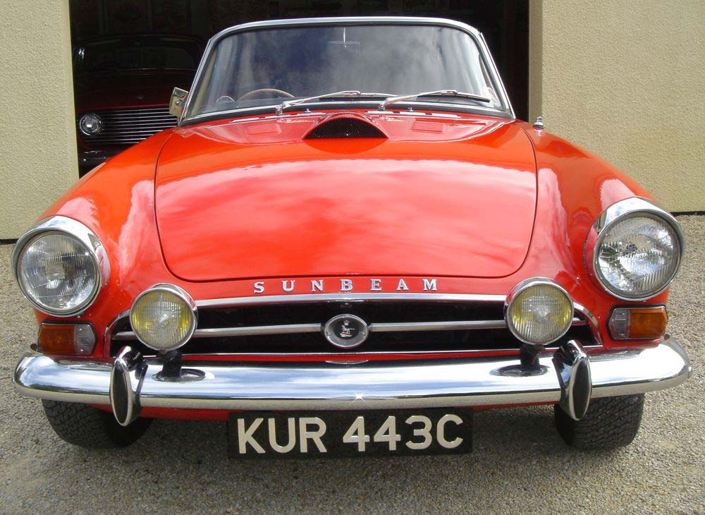 Image of Sunbeam Tiger Louvred Bonnet With Scoop   09