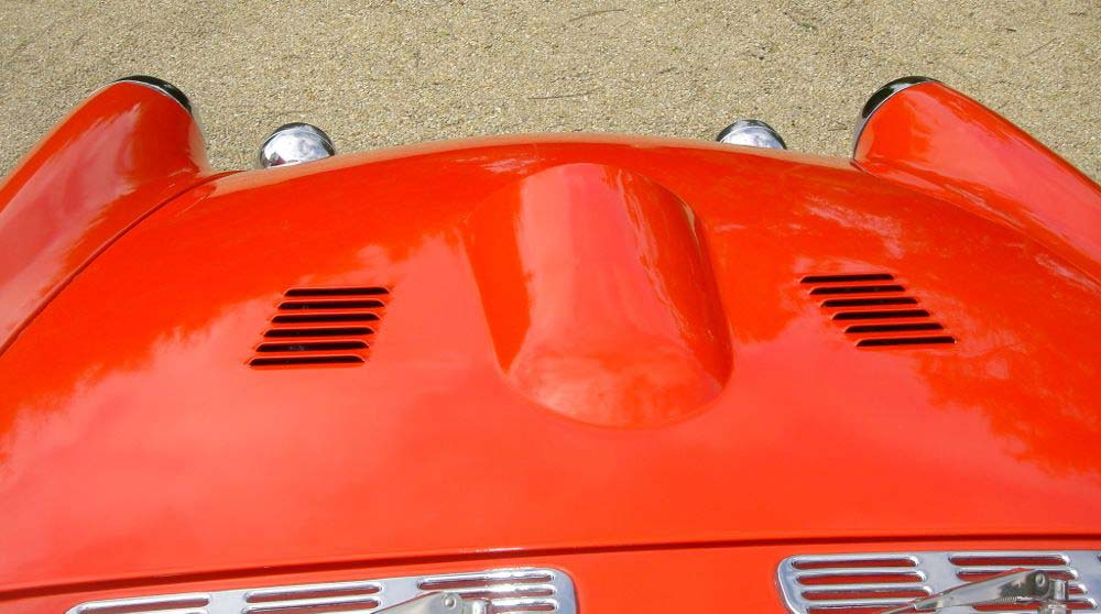 Image of Sunbeam Tiger Louvred Bonnet With Scoop   10