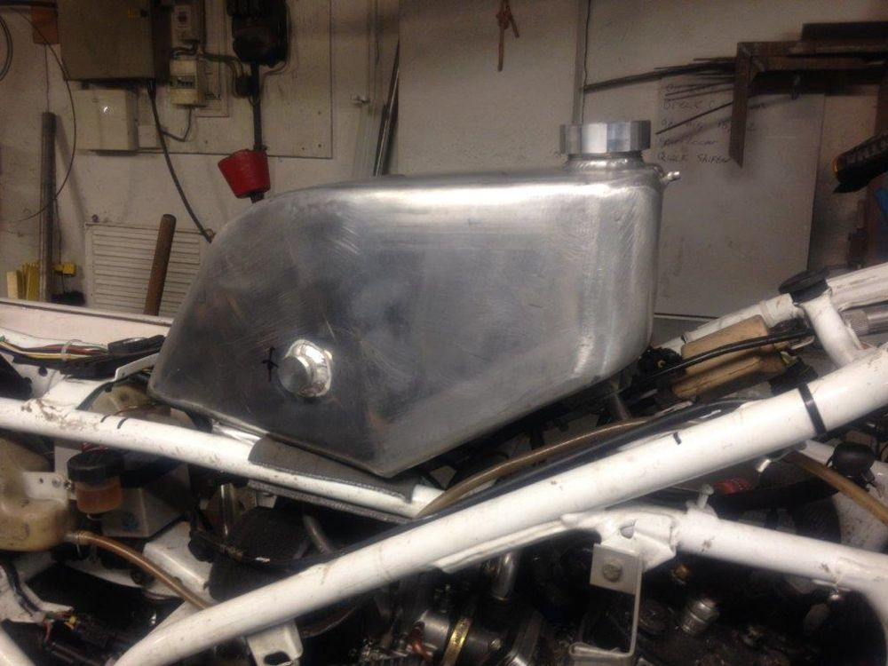 Image of Yamaha Past Masters Race Bike Fuel Tank 006