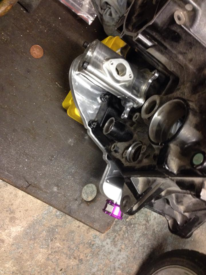 Image of Dry Sump System for Kawasaki ZX6r 2012